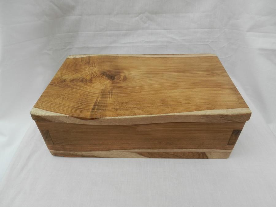 Jarrah Burr Natural Edge Box Gallery Ullapool Box